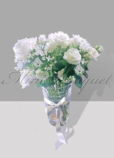 Geçmiş olsun çiçekleri_ Beyaz Güller