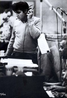January 15, 1958 Elvis Presley had recordings for the King Creole soundtrack.