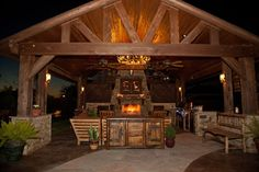 texas outdoor kitchens | Outdoor Living Room and Fireplace Katy,TX