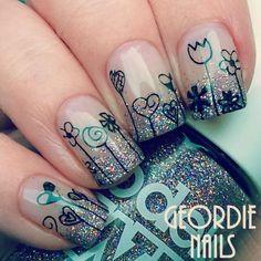 manucure ombr jolie nail art pour lt
