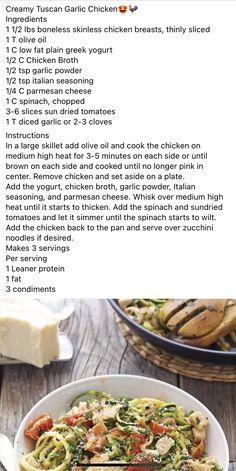 Chicken Meals, Keto Chicken, Chicken Recipes, Lean Protein Meals, Protein Foods, Cooking Ideas, Cooking Recipes, Lean And Green Meals, Large Skillet