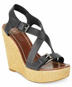 Lauren Ralph Lauren Dover Platform Wedge Sandals