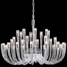 Signature Chandelier by Metropolitan Lighting Murano Chandelier, Chandelier Ceiling Lights, Modern Chandelier, Wall Sconce Lighting, Chandeliers, Luxury Lighting, Home Lighting, Metropolitan Lighting, Led Light Kits