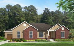 Adams - Traditional style house plan - Walker Home Design