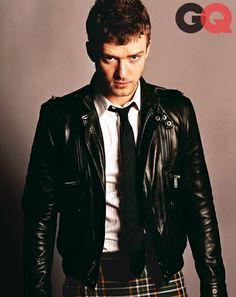 Justin Timberlake GQ magazine September 2004