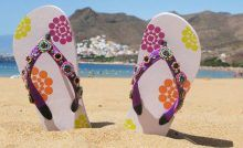 Find Flipflops Sand Teresitas Beach Tenerife Island stock images in HD and millions of other royalty-free stock photos, illustrations and vectors in the Shutterstock collection. Thousands of new, high-quality pictures added every day. Flipflops, Welcome To The Party, Colorful Shoes, Paparazzi Jewelry, Tenerife, Headband Hairstyles, Summer Of Love, Fashion Boutique, Headbands
