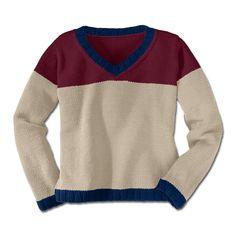 Modell 343/3, Pullover aus Merino-Cotton von Junghans-Wolle « Kindermodelle « Strickmodelle Junghans-Wolle « Stricken & Häkeln im Junghans-Wolle Creativ-Shop kaufen
