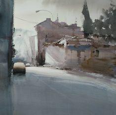 "Manolo Jiménez Sánchez on Instagram: ""Montilla #conquistalacuarela #acuarela #watercolorpainting #aguarelas #aquarelle #acuarelle"" Watercolors, Sculptures, Exterior, Colour, Abstract, Fall, Painting, Inspiration, Instagram"