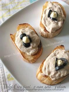 Crostini con salsa tonnata   ricetta veloce