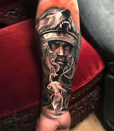 "14.4 mil Me gusta, 106 comentarios - Arlo DiCristina (@arlotattoos) en Instagram: ""Piece I did last weekend Done with the xion pen from @fkiorns @elysium_studios. @elysium_…"""