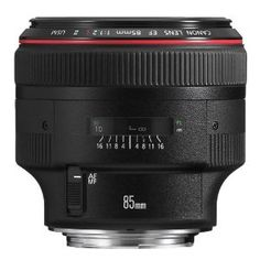 Canon EF 85mm f/1.2L II USM Lens. £  . . . Let's not even go there.