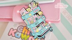 Super cute and big size enamel pin carrito scrap. Design by Chic Kawaii. With two rubber pin backs ; Polly Pocket, Kawaii Diy, Kawaii Cute, Shrinky Dinks, Cool Pins, Pin And Patches, Disney Pins, Cool Things To Buy, Stuff To Buy