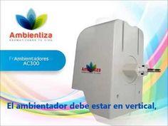 Ambientadores profesionales AC300 de Ambientiza
