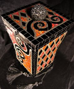 mosaic box ungrouted