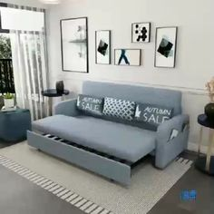 Folding Sofa Bed I like this sofa for babies/guest bedroom Sofa Bed Design, Living Room Sofa Design, Bedroom Closet Design, Bedroom Furniture Design, Bed Furniture, Modern Furniture, Bed In Living Room, Folding Furniture, Smart Furniture