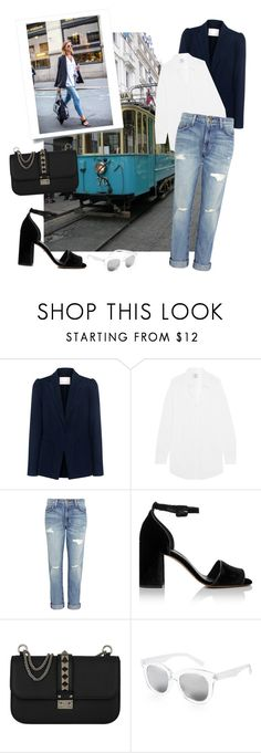 """""""Travel Outfit: Oslo"""" by conceptamsterdam ❤ liked on Polyvore featuring Rebecca Taylor, Vetements, Current/Elliott, Whistles, Valentino and WithChic"""
