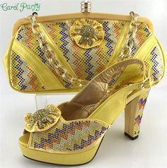 e502d6cc9a2875 OLAMICH New Arrival Women Matching Italian Shoe Bag Set Decorated Appliques  Shoes and Bag Buy Shoes