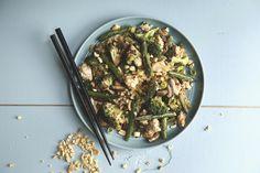 Chicken Stir-Fry Wok Recipes, Asian Recipes, Chicken Recipes, Cooking Recipes, Healthy Recipes, Healthy Options, Yummy Snacks, Yummy Food, Salsa