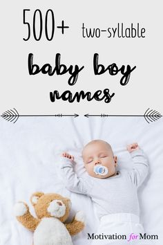 This list has over 500 ideas for two syllable boy names that are short and sweet and easy to fall in love with. Some of these are common baby boy names, and some of these are unique baby boy names. Whether you are looking for first names or middle names for your baby boy, this list will give you plenty of ideas for baby boy names! Unique Baby Boy Names, Cute Baby Names, Baby Girl Names, First Time Pregnancy, All About Pregnancy, Two Syllable Boy Names, Gender Neutral Names, Newborn Essentials, Newborn Care