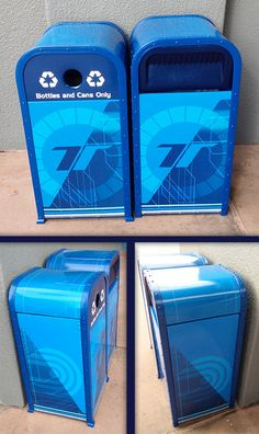 Test Track has new trash cans!