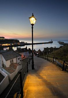 """Steps"""" ~ by Ian Snowdon ~ Whitby, North Yorkshire, England What A Wonderful World, Beautiful World, Beautiful Places, Wonderful Places, Beautiful Homes, Whitby England, Yorkshire England, North Yorkshire, Oxford England"""