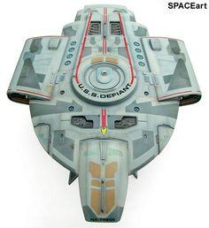 Star Trek: U.S.S. Defiant, Fertig-Modell ... https://spaceart.de/produkte/st050.php