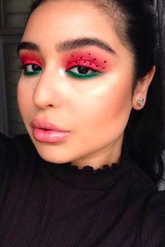 The Juiciest New Summer Beauty Trend Is Watermelon Makeup What's Makeup ? What is Makeup ? In general, what's makeup … Makeup Set, Makeup Inspo, Makeup Inspiration, Beauty Makeup, Makeup Ideas, Prom Makeup, Makeup Tutorials, Daily Makeup, Wedding Makeup
