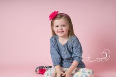 Children's photography | Indoor photo ideas for girls | Teri Walizer Photography