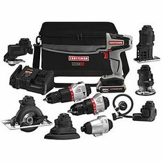 -Craftsman Bolt-On 20 Volt MAX* Power Tool and Accessory Bundle - own it