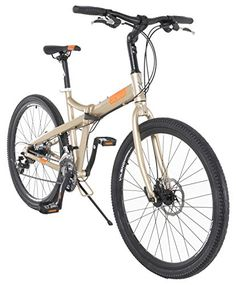Vilano Midtown 26 Inch Folding Commuter Bike Shimano 24 Speed Disc Brakes ** Check out the image by visiting the link. This is an Amazon Affiliate links.