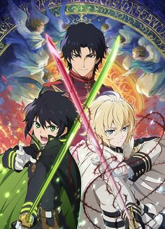 Owari no Seraph action; humor; new; tragedy 9.5/10