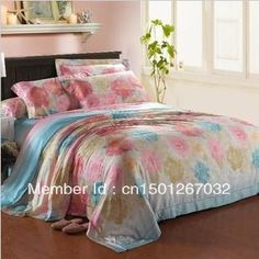 Aliexpress.com : Buy Home textile tencel  fabric  full double faced tencel 4pcs bedding set/comforter set/duvet cover/bedspread/bedsheet/bed linen from Reliable comforter sets king suppliers on Mandy Wholesale. $92.00 - 95.00