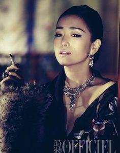 Gong Li L'Officiel Chin