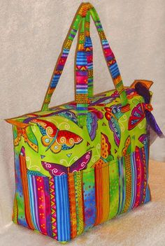 Lazy Girl   Blog » Ease Into The Summer (Tote) With A Video Demonstration