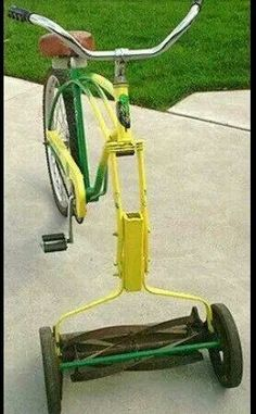 Mow the lawn & get a great workout!