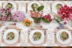 Um almoço no jardim para abir a temporada de encontros com o frescor da brisa outonal!