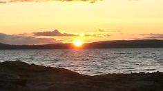 Sunset over Bute