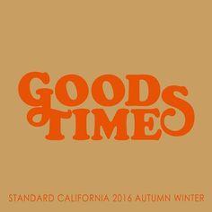 Standard California 2016 Autumn / Winter Collection Product公開です  #standardcalifornia  #スタンダードカリフォルニア #goodtimes #2016aw