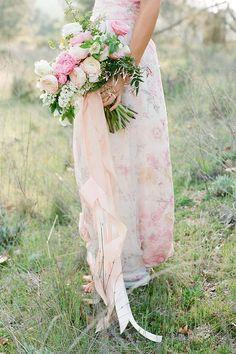 Bridesmaid Bouquet #wedding #pink