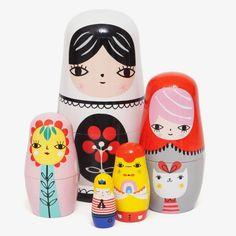 PS Ik Hou Van Jou / Nesting Dolls / Fleur & Friends