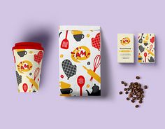 Corporate identity for Bakery & fast food.