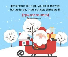 7 days Holiday: merry christmas quotes and images - Neujahr Funny Christmas Card Sayings, Christmas Wishes Messages, Merry Christmas Quotes, Christmas Art, Christmas Greetings, Christmas Humor, Christmas Gifts, Happy Chinese New Year, Happy Holidays Quotes