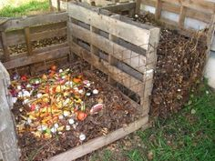 Instructions on creating Compost (no info on pallets)