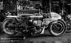 让冰冷钢铁焕发生命--日本顶级摩托车定制师Shinya Kimura - 欣赏 - 手艺门