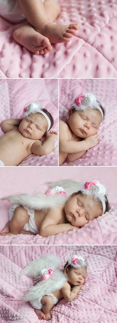 Ok, theee cutest newborn photo shoot EVER! NEED to find these wings! !