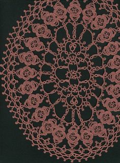 Diane's Doily (Rnd 5 - finished!)