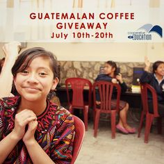Like CoEd's Facebook page for a chance to win a bag of Guatemalan coffee! Click here: https://www.facebook.com/coeduc?fref=ts
