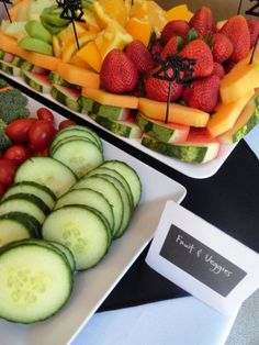 Graduation Party Ideas - Cute Food