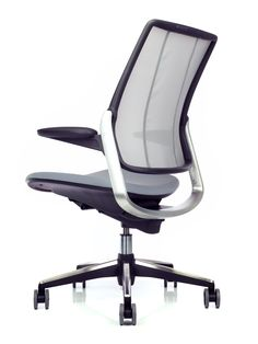 Comfortable Office Chair with Mesh back that provides lumbar support for every user: Diffrient Smart