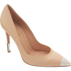 Metal Cap Toe Pump